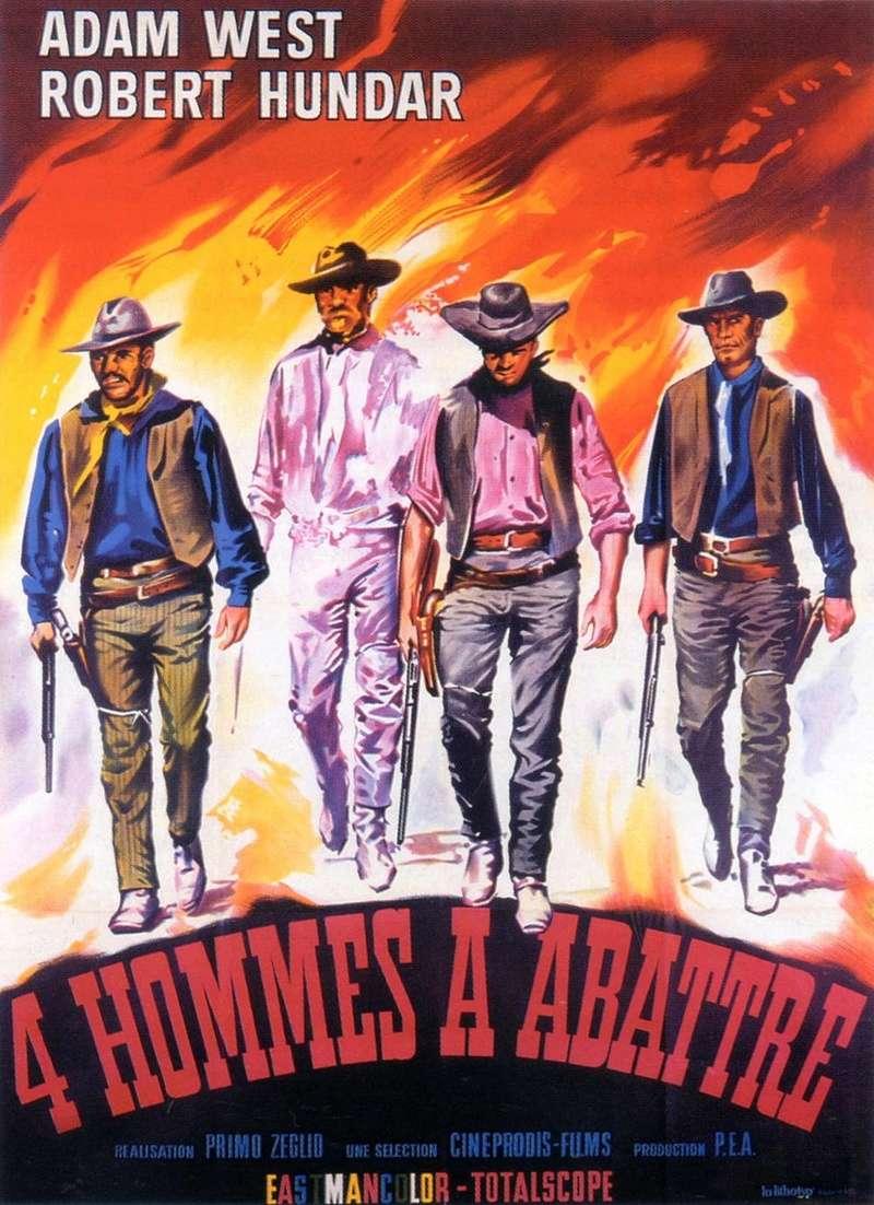 4 hommes à abattre - I quattro inesorabili - 1965 - Primo Zeglio De6b6a10