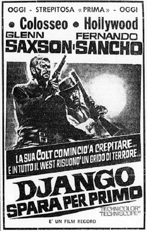 Django tire le premier - Django spara per primo - Alberto De Martino - 1966 - Page 3 Django13