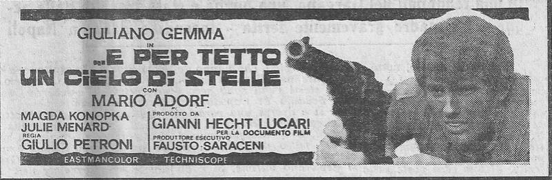 Ciel de plomb -  ...e per tetto un cielo di stelle - 1968 - Giulio Petroni  E_per_10