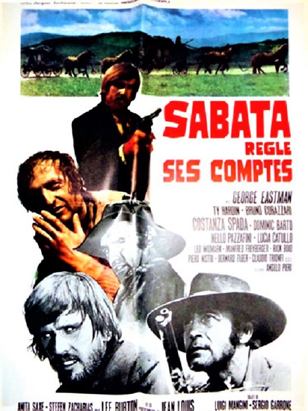 Sabata règle ses comptes - Quel maledetto giorno della resa dei conti - Sergio Garrone - 1971 En152910