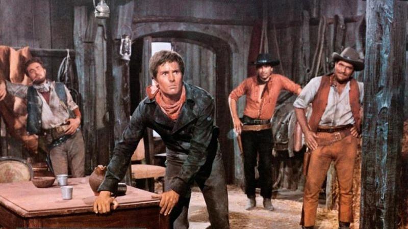 3 cavaliers pour Fort Yuma . Per Pochi Dollari Ancora . 1966 . Giorgio Ferroni. For2ba10