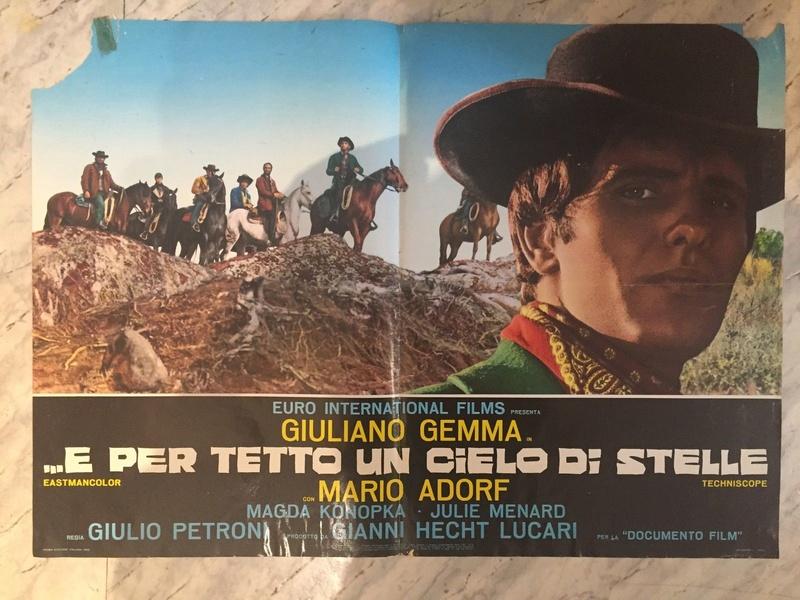 Ciel de plomb -  ...e per tetto un cielo di stelle - 1968 - Giulio Petroni  Fotobu11