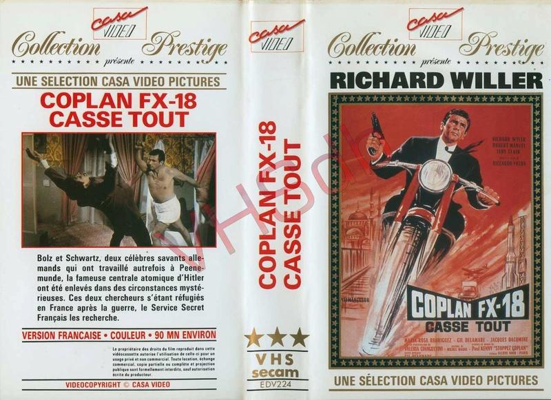 Coplan FX 18 casse tout - Objetivo:¡Matar! - Riccardo Freda , 1965 Ghtonr10
