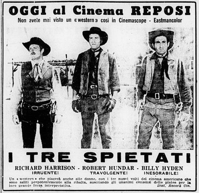 Les 3 implacables ( El sabor de la venganza ) –1963- Joaquim ROMERO MARCHENT I-tre-10