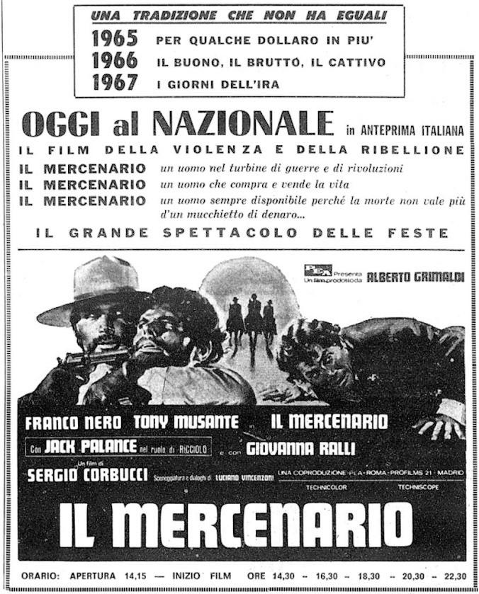 El Mercenario - Il mercenario - Sergio Corbucci - 1968 - Page 2 Il-mer10