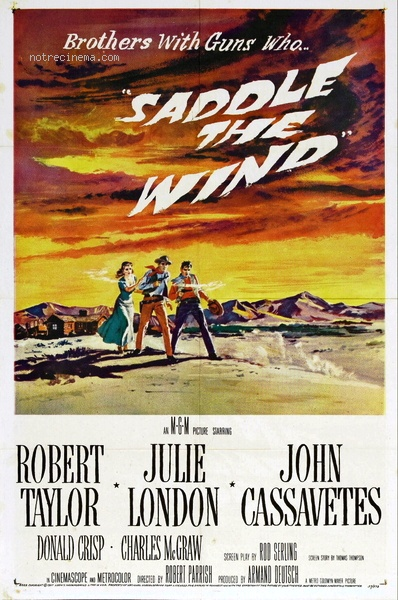 Libre comme le vent. Saddle the Wind. 1957.  Robert Parrish. Libre-10