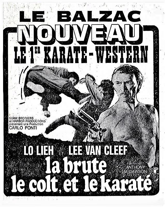 La brute , le colt et le karaté . 1974 . Antonio Margheriti Nice_m10