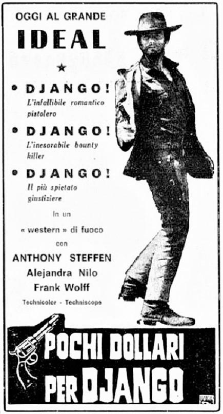 Quelques Dollars pour Django - Pochi dollari per Django  - 1966 - Leon Klimosky - Page 2 Pochi-10