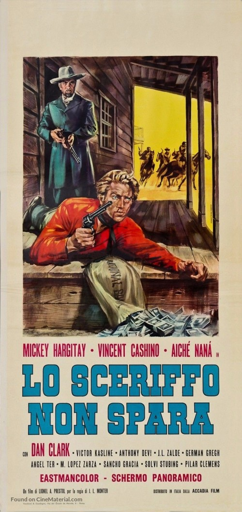 Le shérif ne tire pas . Lo sceriffo che non spara . 1965 . Jose-Luis Monter et Renato Polselli Produt10