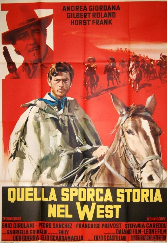 Django porte sa croix - Quella sporca storia del West - Enzo G. Castellari - 1968 Produt12