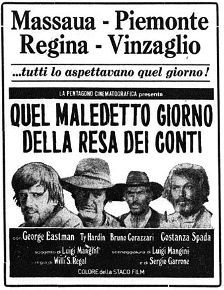 Sabata règle ses comptes - Quel maledetto giorno della resa dei conti - Sergio Garrone - 1971 Quel-m10