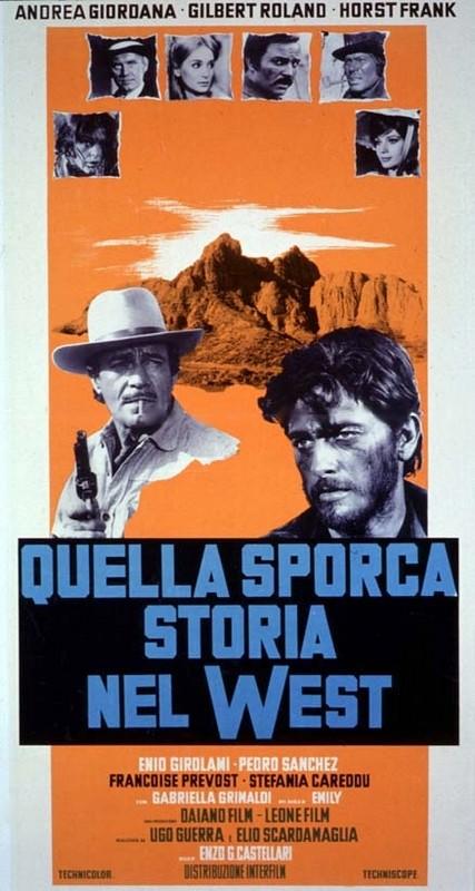 Django porte sa croix - Quella sporca storia del West - Enzo G. Castellari - 1968 Quella10