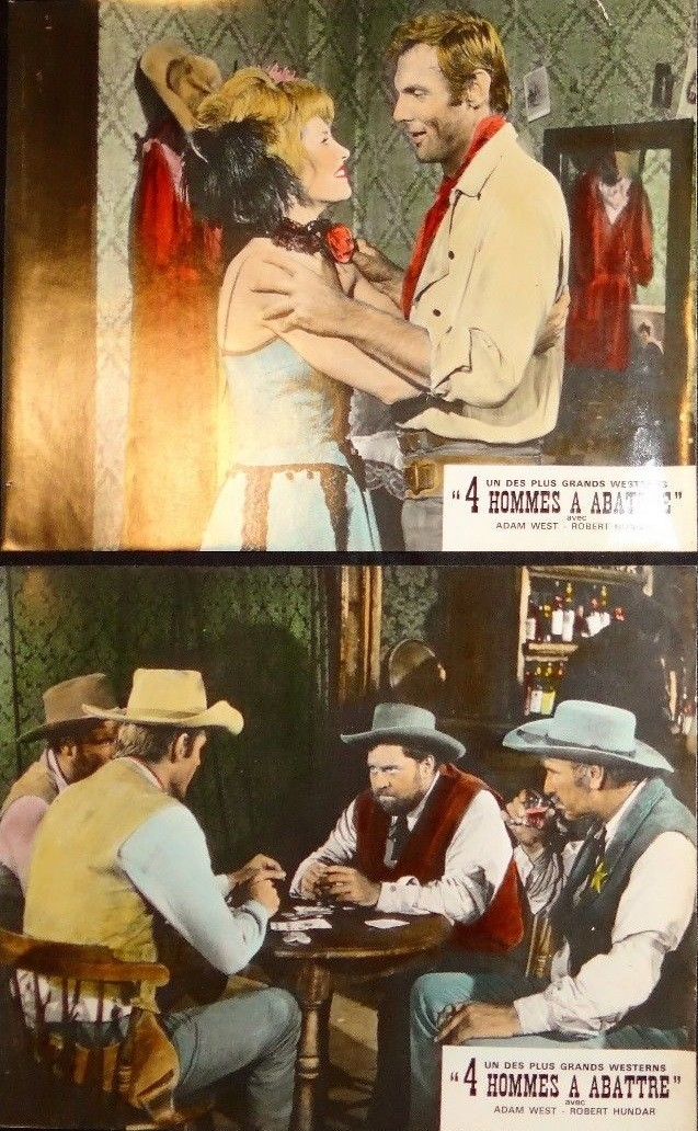 4 hommes à abattre - I quattro inesorabili - 1965 - Primo Zeglio S-l16012