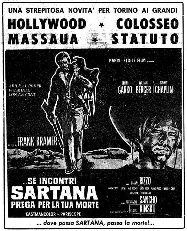 Sartana - Se incontri Sartana, prega per la tua morte - 1968 - Frank Kramer - Gianni Garko Se-inc10