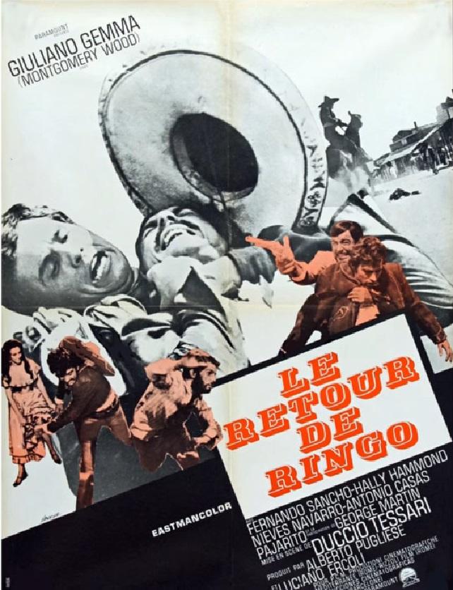 Le retour de Ringo - Il ritorno di Ringo - 1965 - Duccio Tessari Snapsh30