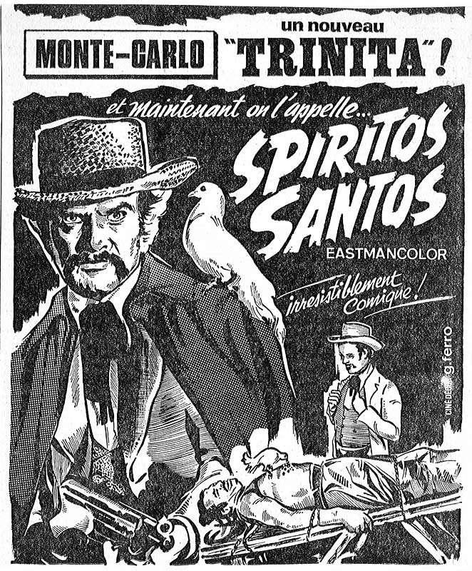 On l'appelle Spirito Santo - Uomo avvisato mezzo ammazzato... Parola di Spirito Santo - 1971 - Giuliano Carnimeo Spirit10