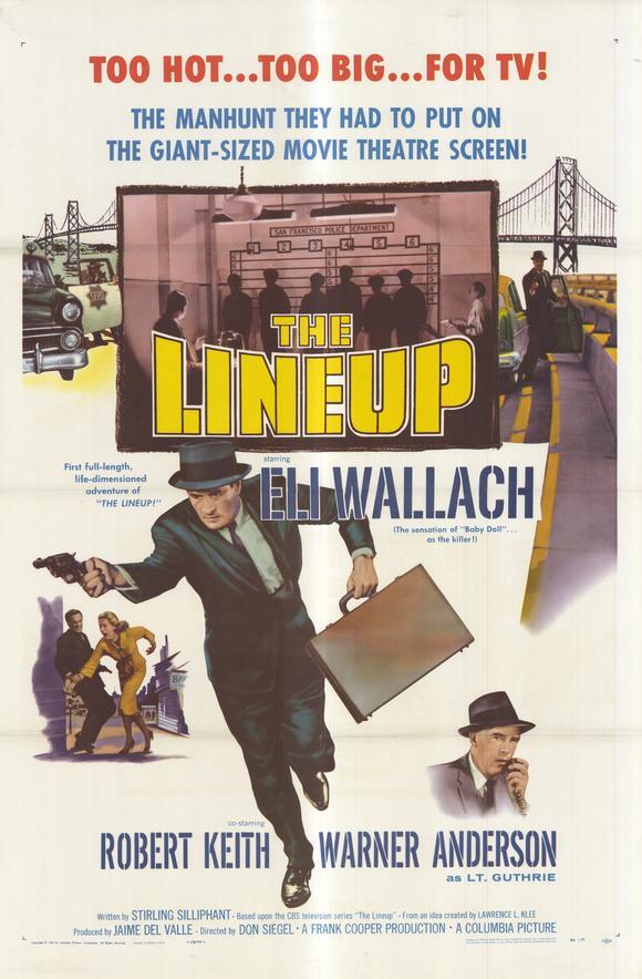 La Ronde du crime. The Lineup. 1958. Don Siegel. The-li10