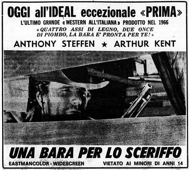 Un cercueil pour le shérif ( Una Bara per lo Sheriffo ) –1965- Mario CAÏANO - Page 2 Una-ba11