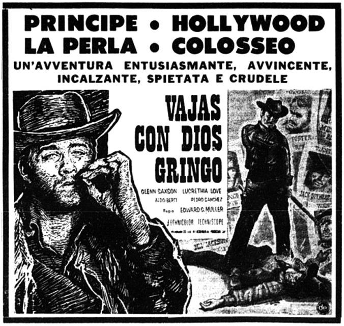Dieu est avec toi, gringo - Vaya con Dios, Gringo - Edoardo Mulargia - 1966 Vajas-10
