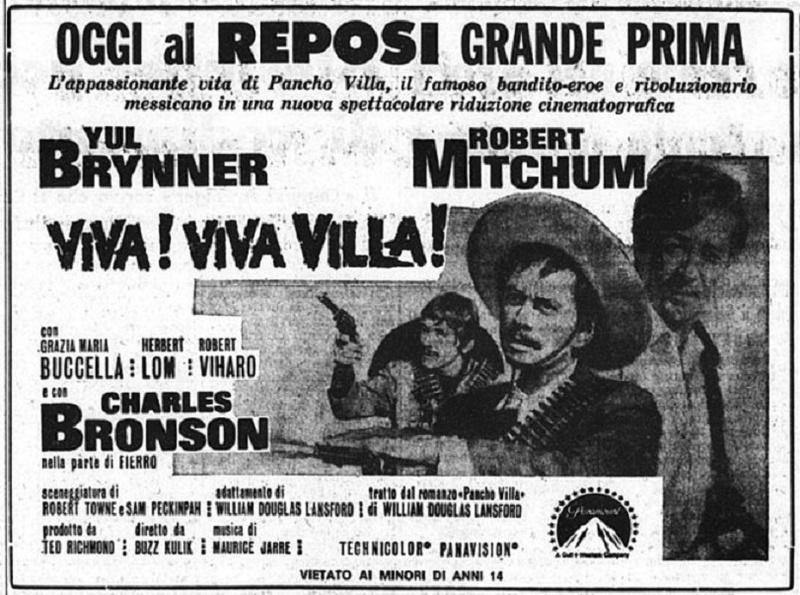 Pancho Villa . 1967 . Buzz Kulik . Viva-v10