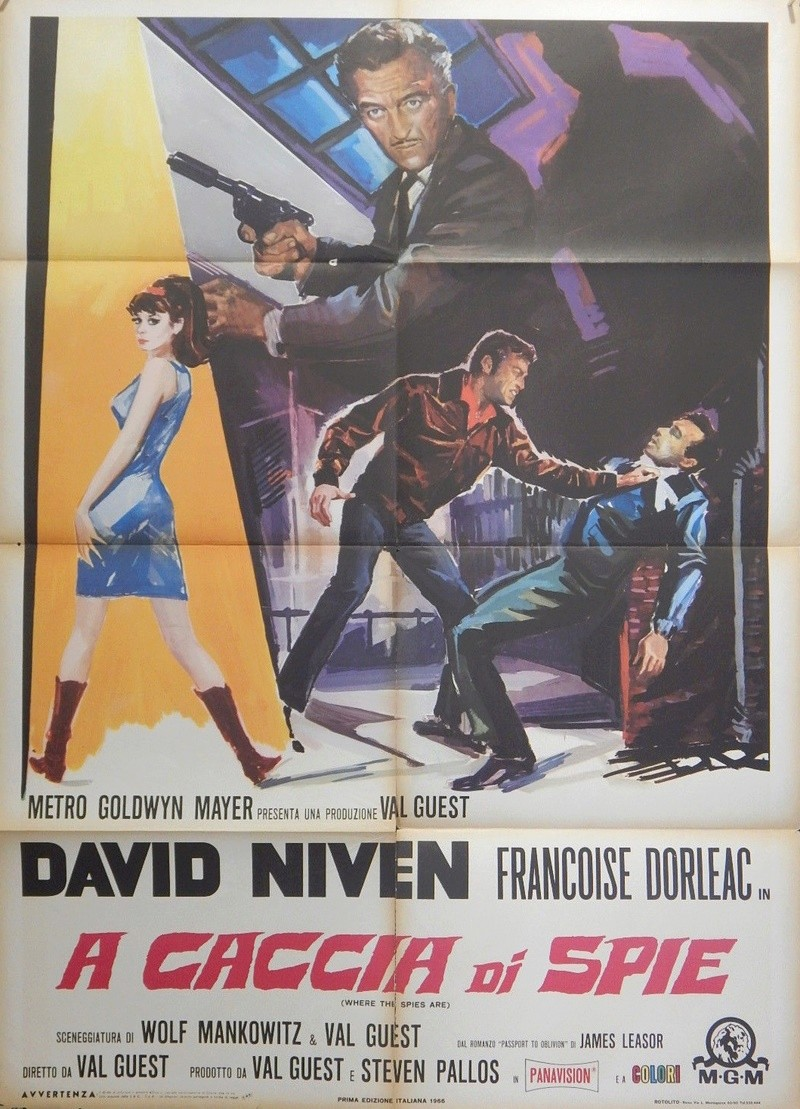 Passeport pour l'oubli- Where the spies are - 1966- Val Guest Yyy10