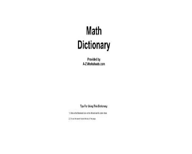 لطلاب اللغات - قاموس ترجمة مصطلحات الرياضيات Iou_o10
