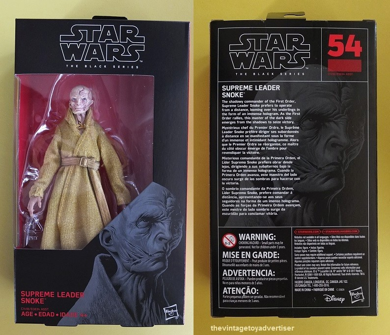 Anyone going to collect the 6 inch Black Series figures? - Page 5 Snoke_12