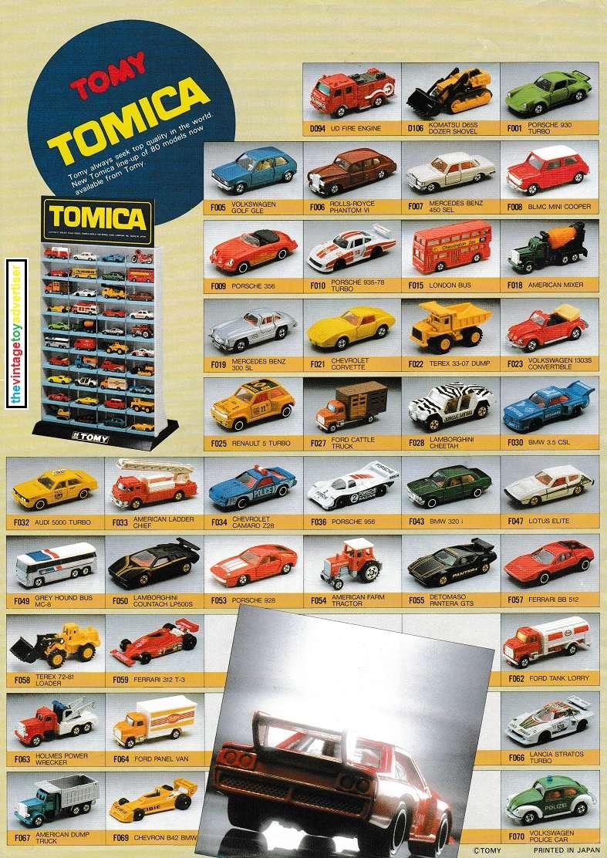 Die cast toys  Tomy_t10