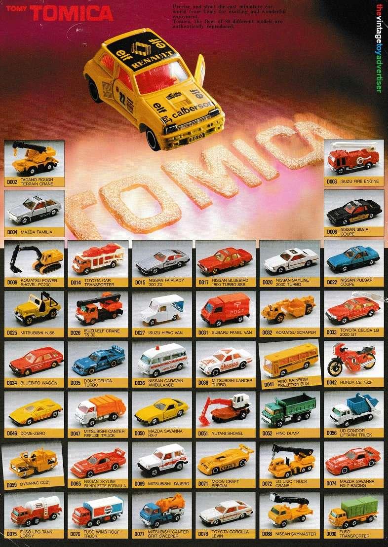 Die cast toys  Tomy_t11