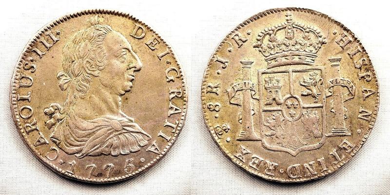 8 Reales 1775 Carlos III Potosi 8_real10
