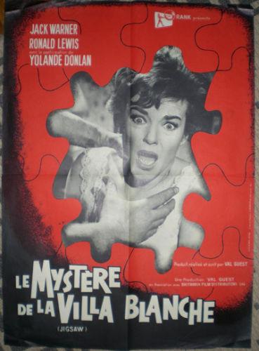 Le Mystère de la villa blanche ( Jigsaw ) - 1962 - Val Guest S-l50010
