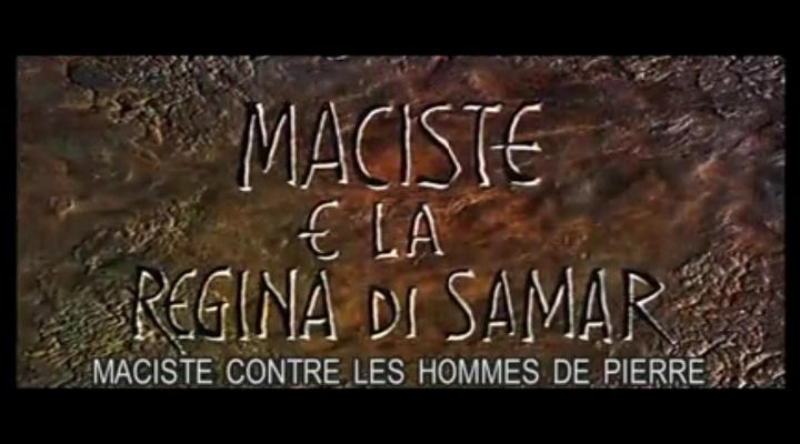 Maciste contre les hommes de pierres ( 1964 ) Giacomo Gentilomo Vlcsna16
