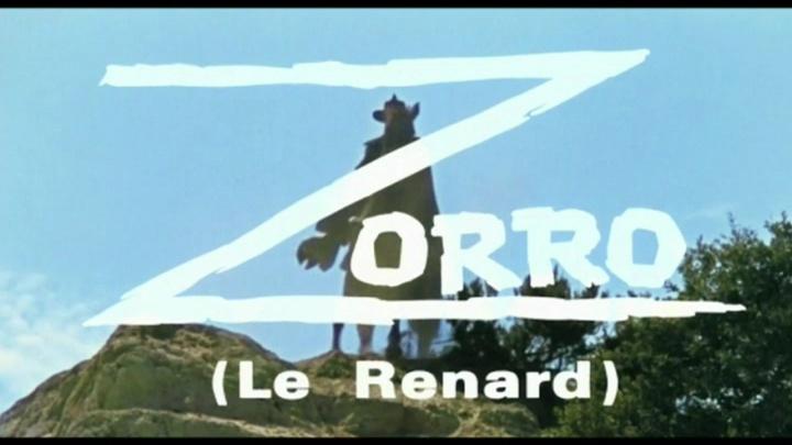 Zorro le Renard. El Zorro. 1968. Guido Zurli. Vlcsna18
