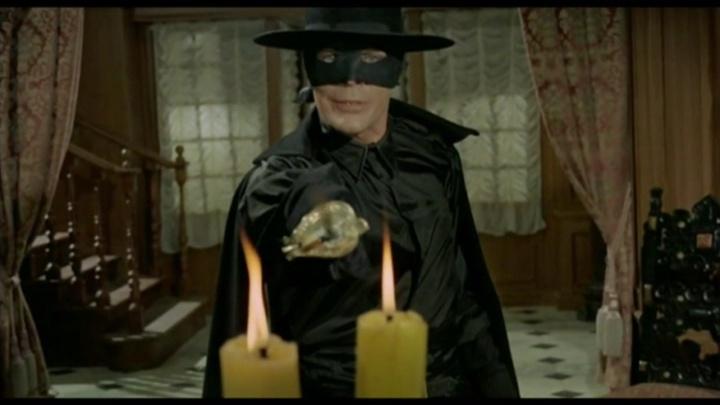Zorro le Renard. El Zorro. 1968. Guido Zurli. Vlcsna21