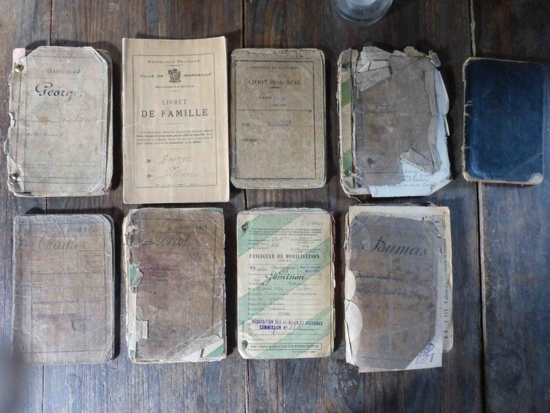 Lot de livrets militaires 1914-1918 + un livret classe 1934 P1070310