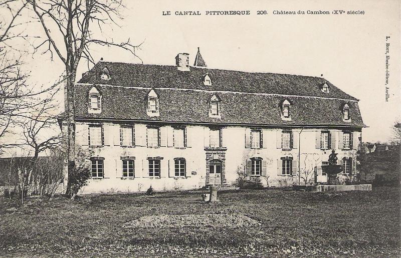 Le château de Chavaniac-Lafayette - Page 5 Cambon10