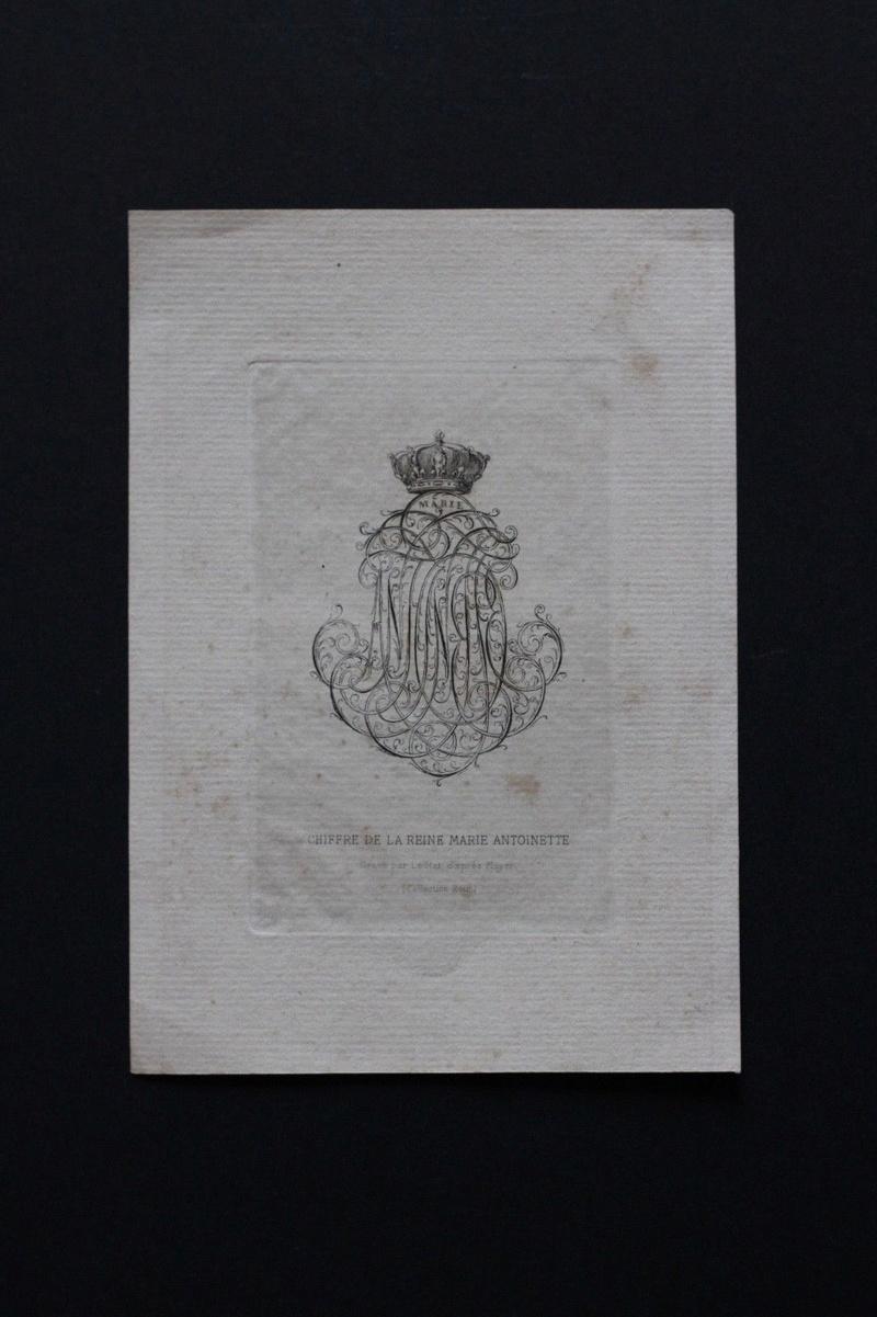 Le monogramme ou chiffre de Marie-Antoinette - Page 5 Chiffr10