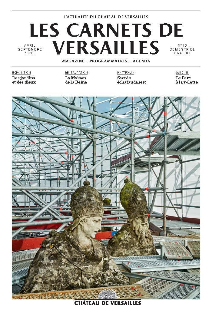 Magazine-programme : Les Carnets de Versailles  Couver10