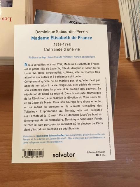 """Madame Elisabeth,  """" en marche """" vers la béatification Img_1313"""