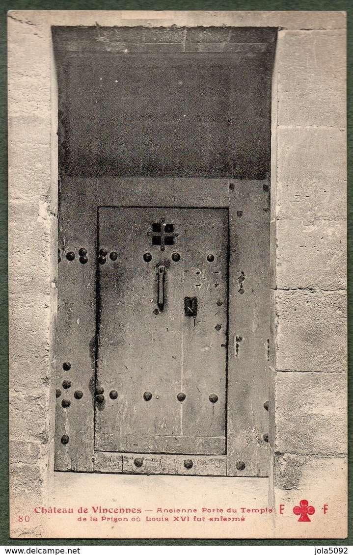 La famille royale à la prison du Temple : plans et aménagements - Page 3 Porte_10
