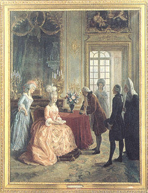 Marie-Antoinette buvait-elle du champagne ? Tablea10