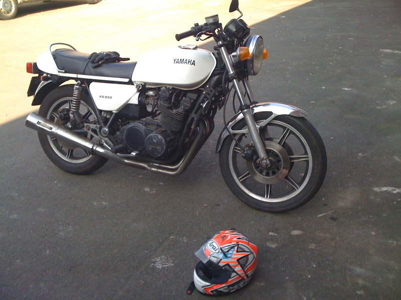 Transformation XS 850 en cafe racer Img_0114