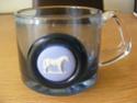 Wedgwood glass tankard/mug with blue jasper plaque? Glass_26