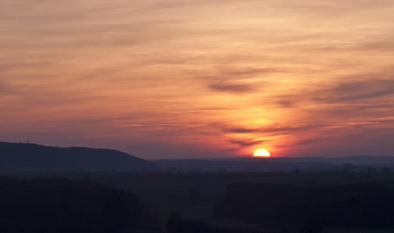 coucher de soleil luxembourgeois laaaa :-) _3214610