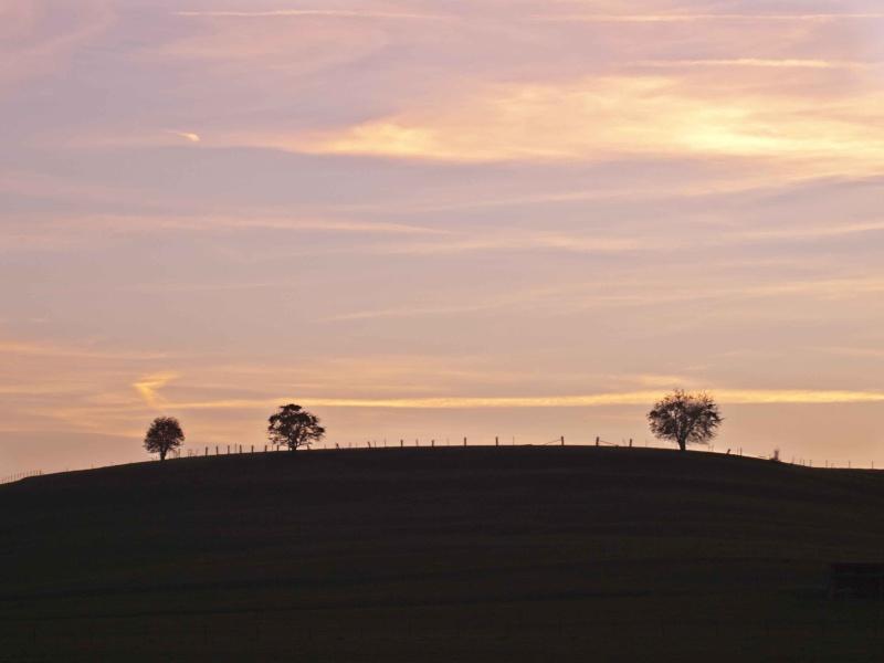 coucher de soleil luxembourgeois laaaa :-) _3235510