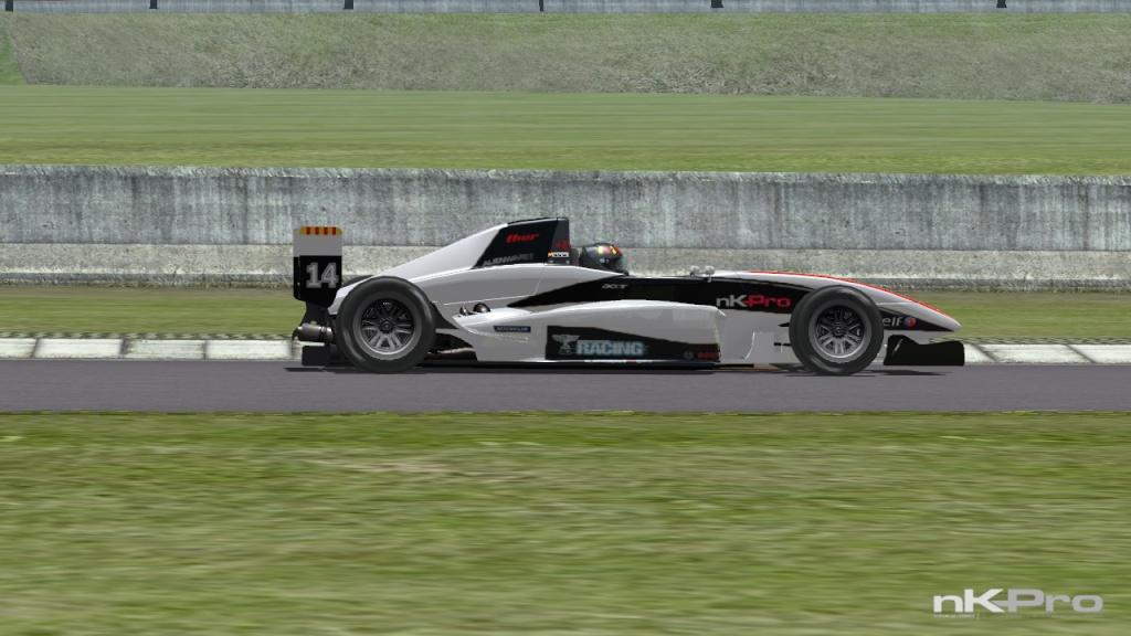formula - formula renault 2.0 radiator number 14 skin Nkscr_15