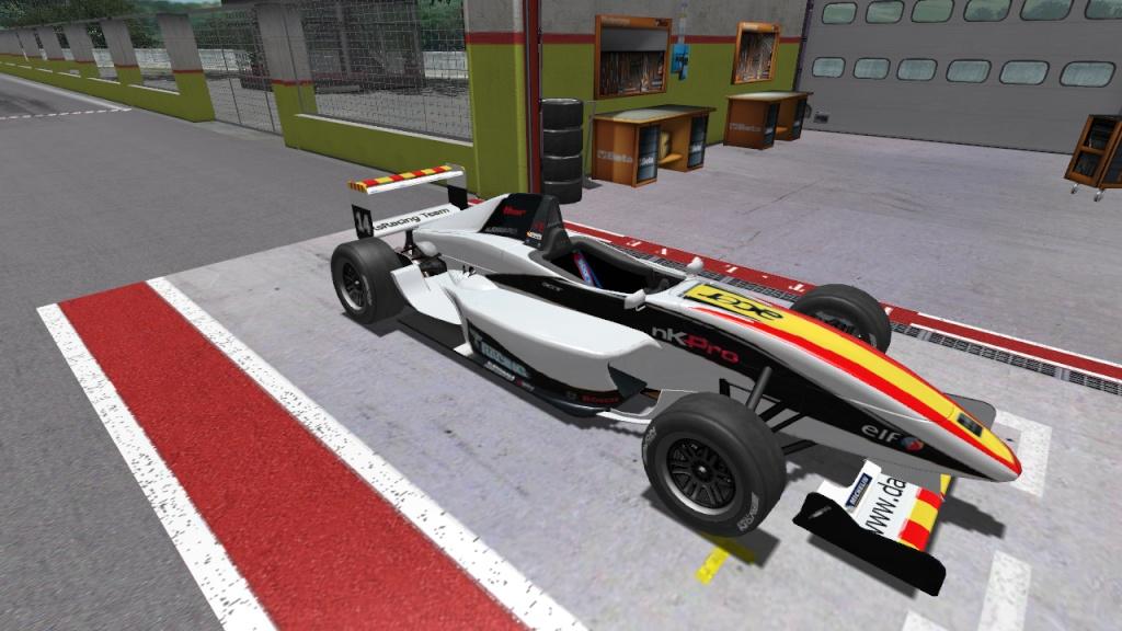 formula - formula renault 2.0 radiator number 14 skin Nkscr_17