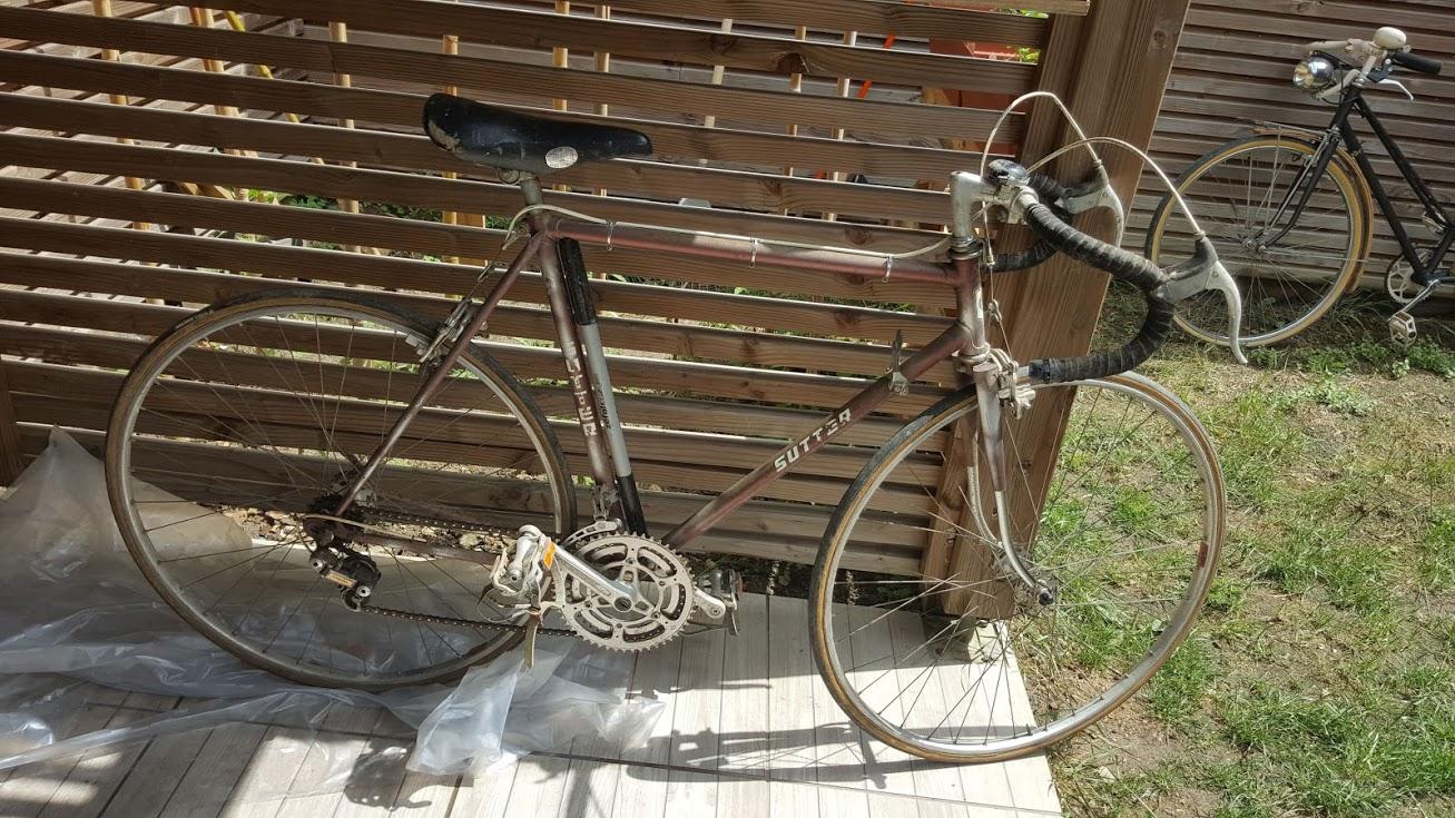 Vélo Sutter pas mal équipé (mafac) 20180517