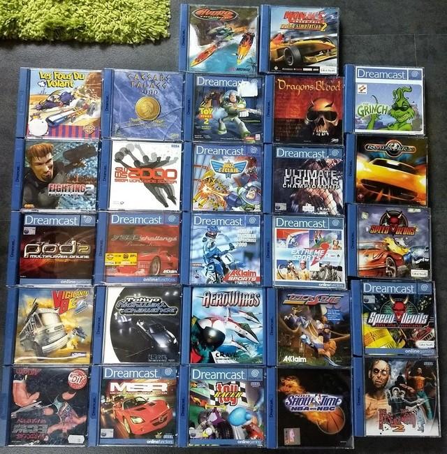 [VDS] Lot de 27 jeux DC 31143710