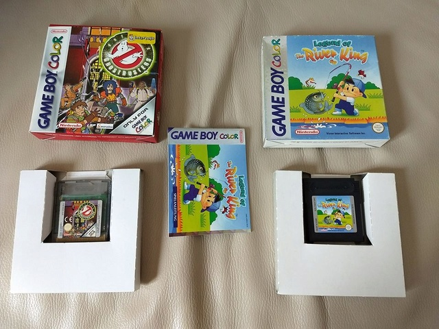 [VDS] Etreme Ghostbusters  et Legend of the River King GBC 32190910